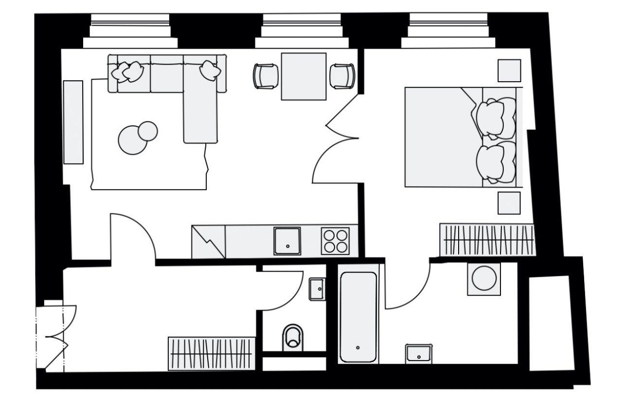 Rezidence Mlynářská 4, byt C3