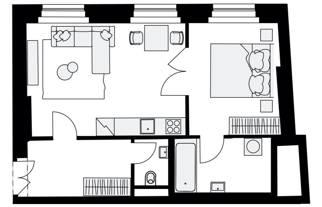 Rezidence Mlynářská 4, byt C4