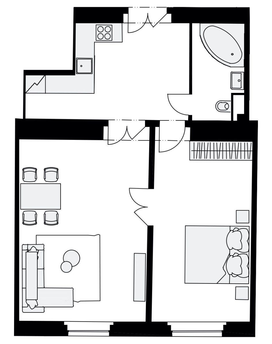 Rezidence Na Švihance, D20