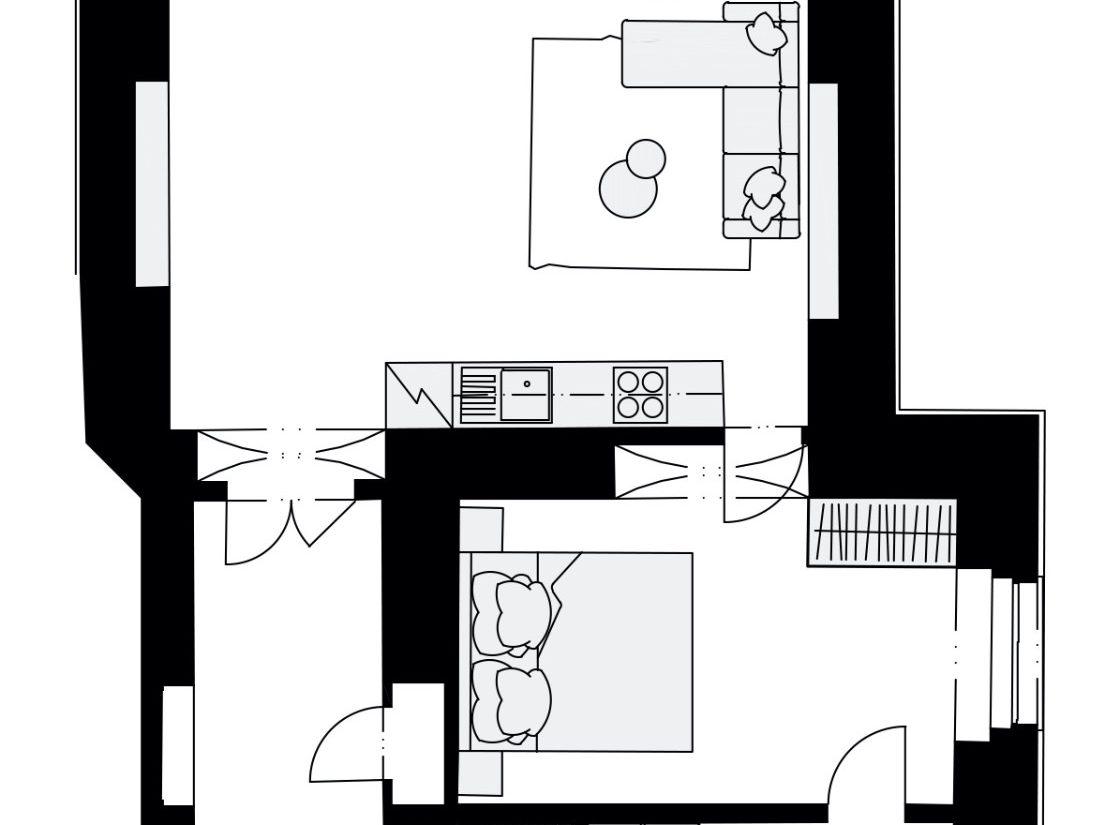 Rezidence Křižíkova 457, E2