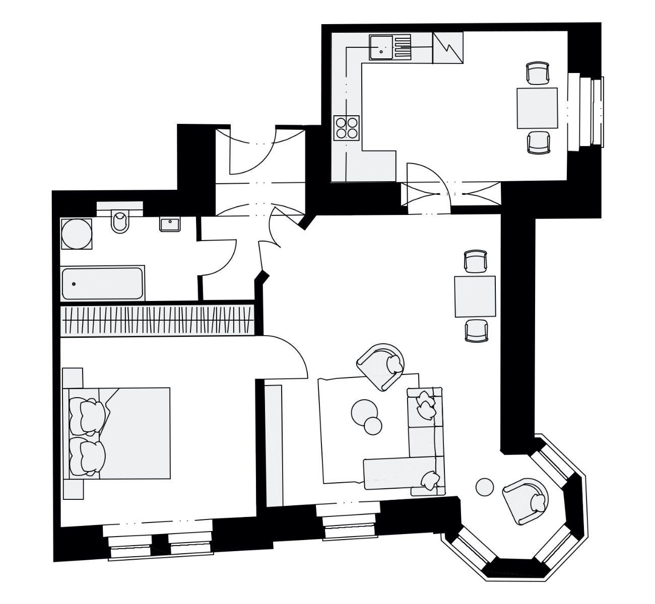 Rezidence Křižíkova 457, E5