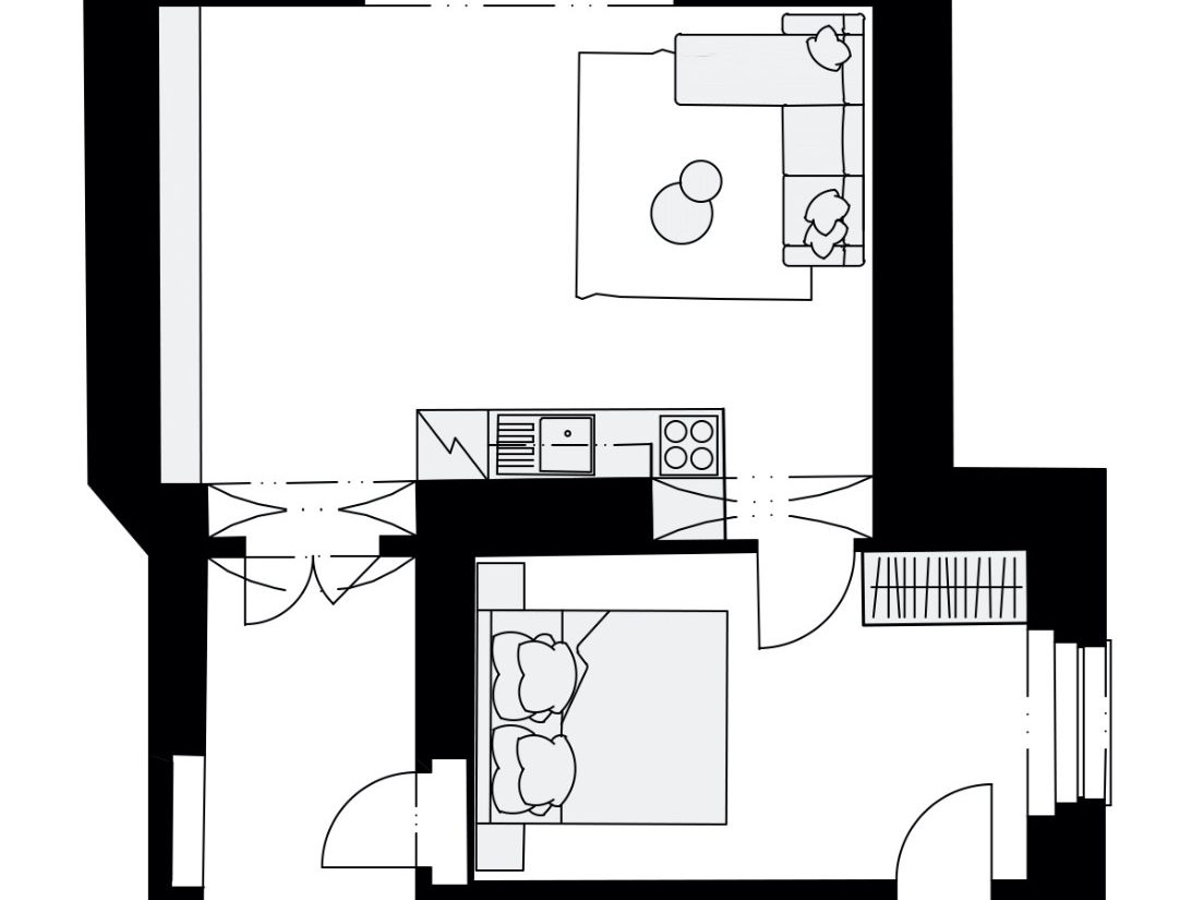 Rezidence Křižíkova 457, E6
